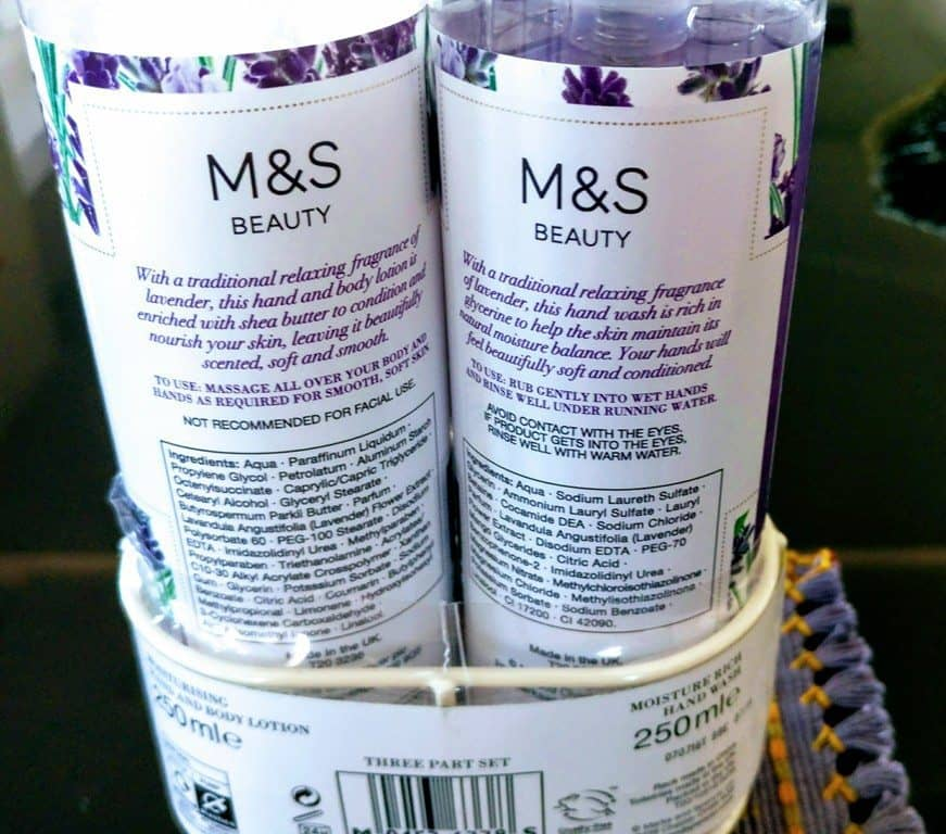 Marks and Spencer's Lavender Twin Rack Duo Floral Collection Review 3