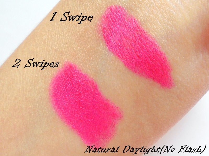 Maybelline Colorshow Bright Mattes Peppy Pink M105 5