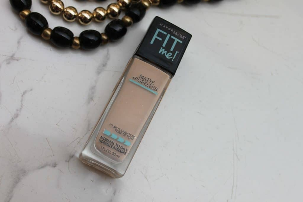 Maybelline Fit Me Foundation Matte + Poreless Review