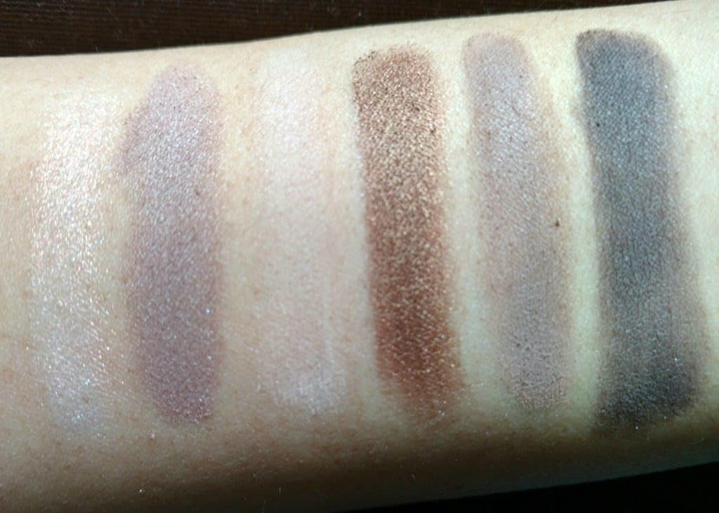 Maybelline the Nudes Palette Review 10