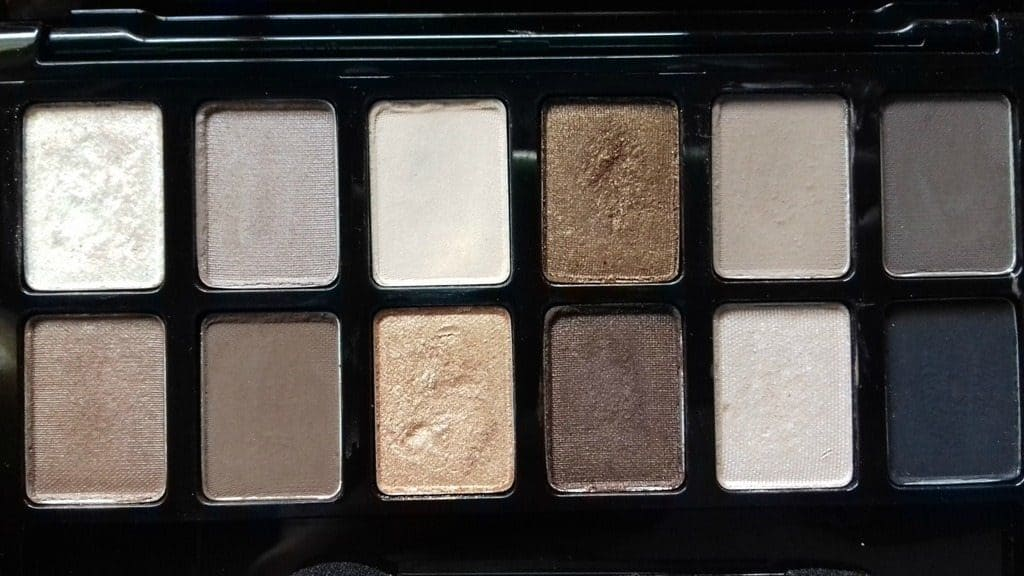 Maybelline the Nudes Palette Review 1