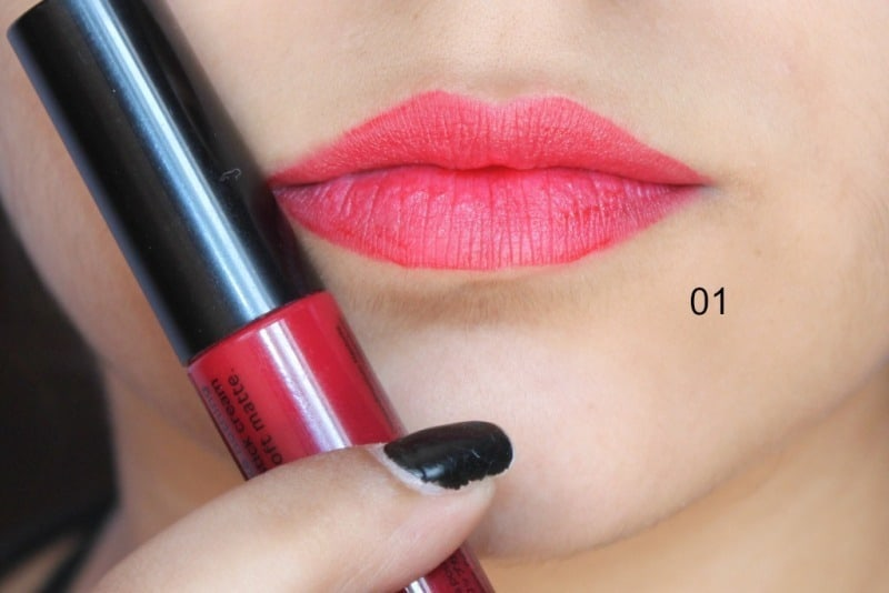 Miss Claire Soft Matte Lip Creams Miss Claire Soft Matte Lip Cream 01 , 05 ,07 , 16A , 17 ,27 2