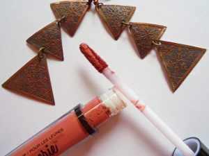NYX Lip Lingerie Seduction Review 1