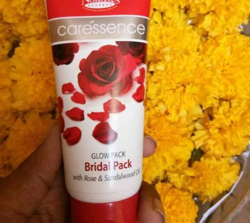 Nature's Essence Caressence Bridal Glow Face Pack Review 2