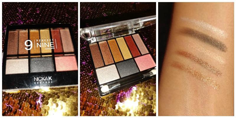 Nicka K Perfect 9 Colour Eyeshadow AP018