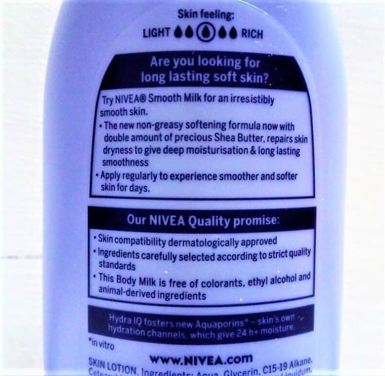 Nivea Body Lotion Smooth Milk 2