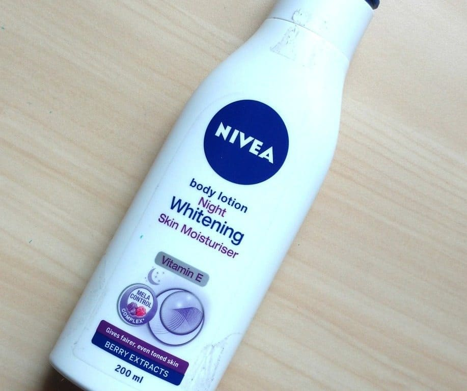 Nivea Lotion The Night Whitening Body Lotion Review
