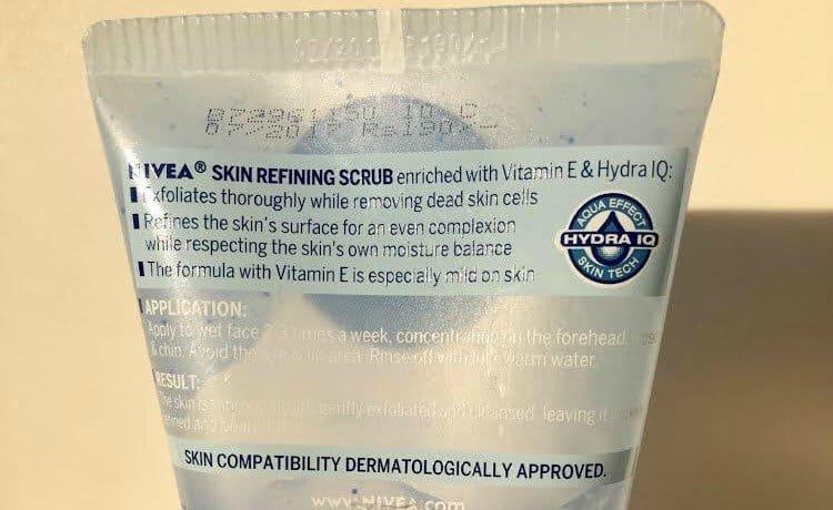 Nivea Skin Refining Scrub 4