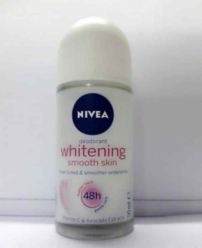 Nivea Whitening Smooth Skin Roll On Review 4