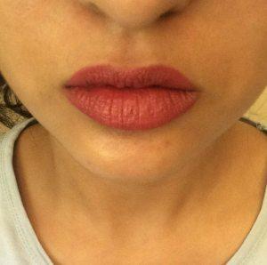 Nykaa Paintstix Lipstick Chick Flick Pink Review 5