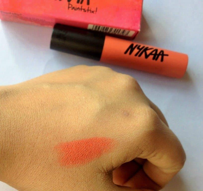 Nykaa Paintstix No Chill Orange 3