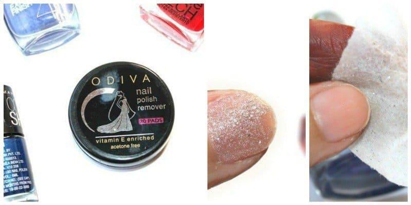 Odiva Nail Polish Remover Round Wipes