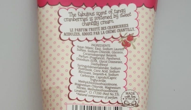 Patisserie de Bain Cranberries & Cream Bath and Shower Crème Refreshes you Inside Out 1
