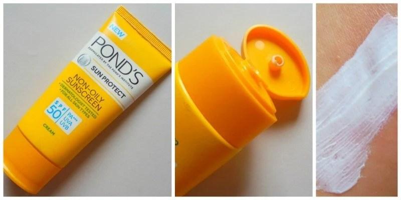 Ponds Sun Protect Non-oily Sunscreen SPF 50 PA+++ Review