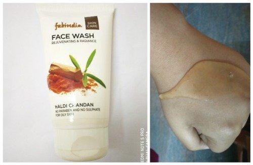 FabInida Haldi Chandan face wash