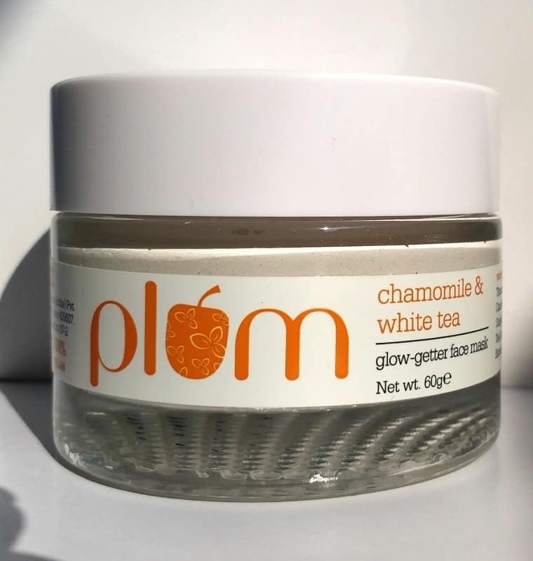 Plum Chamomile & White Tea Glow-Getter Face Mask 1
