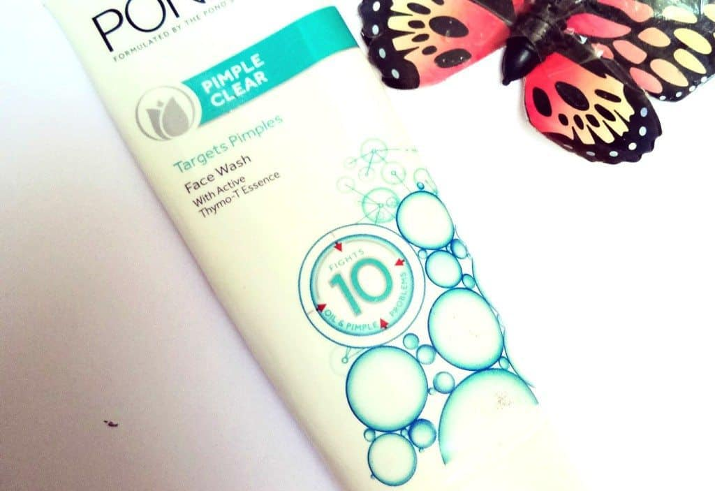 Pond's Pimple Clear Face Wash Review