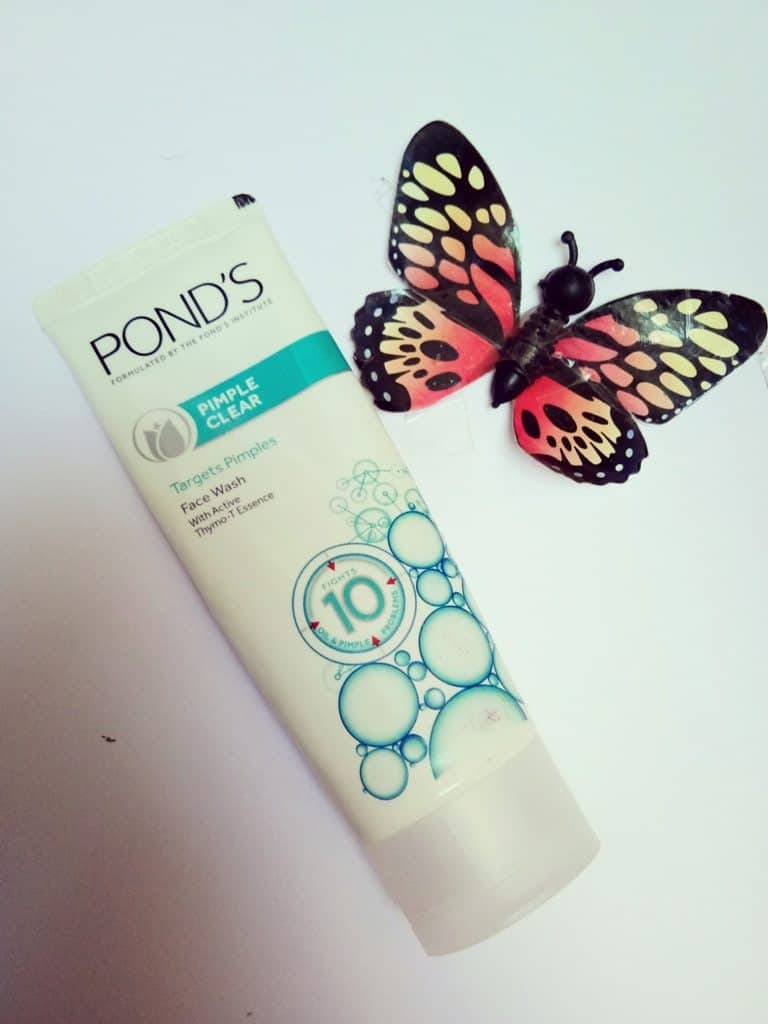 Pond's Pimple Clear Face Wash Review 3