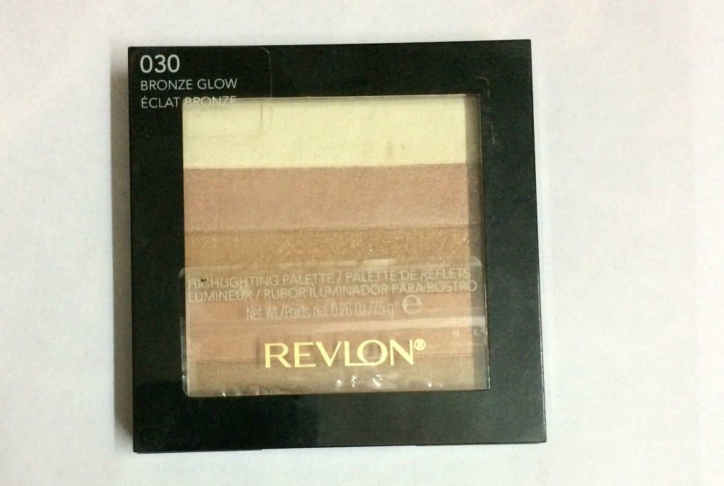Revlon Highlighting Palette Bronze Glow 030 Review