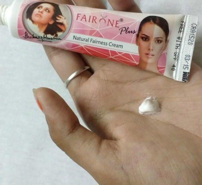 Shahnaz Husain Fair One Plus Fairness Cream Review 1