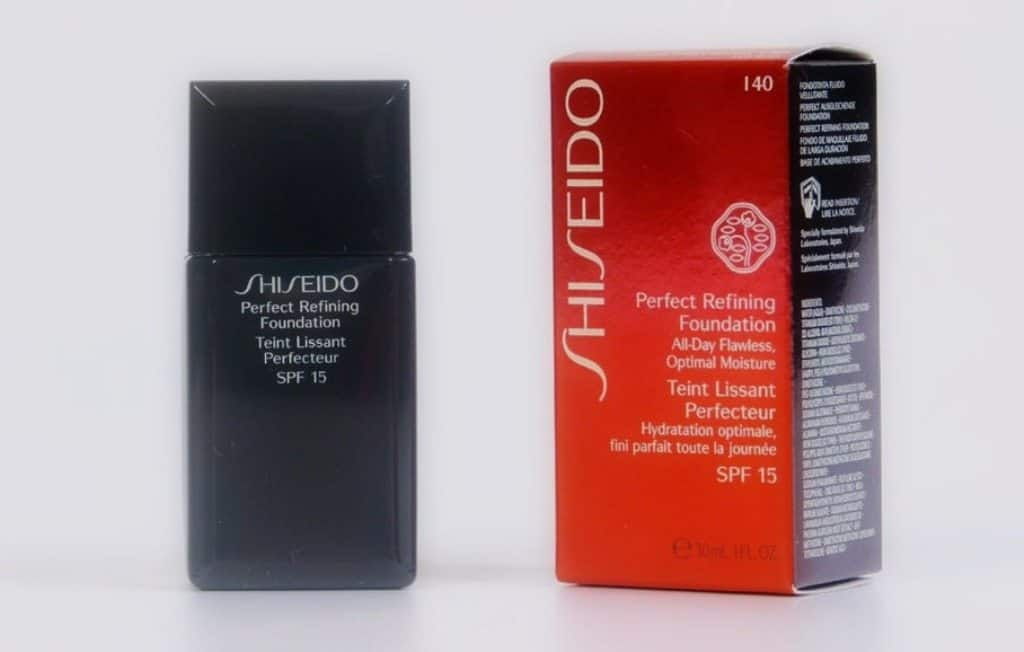 Shiseido Perfect Refining Foundation Review 4