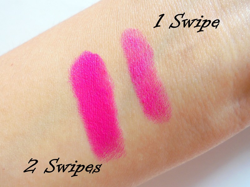 Street Wear Color Rich Ultramoist Lipstick 11 Pink Passion Review 3