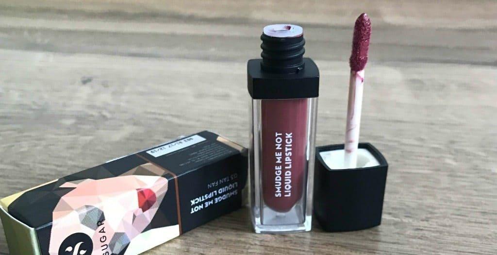 Sugar Smudge Me Not Liquid Lipstick Tan Fan 03 Review 2