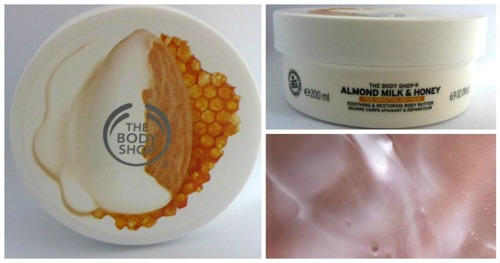 The Body Shop Almond Milk and Honey Calming and Protecting Body Butter