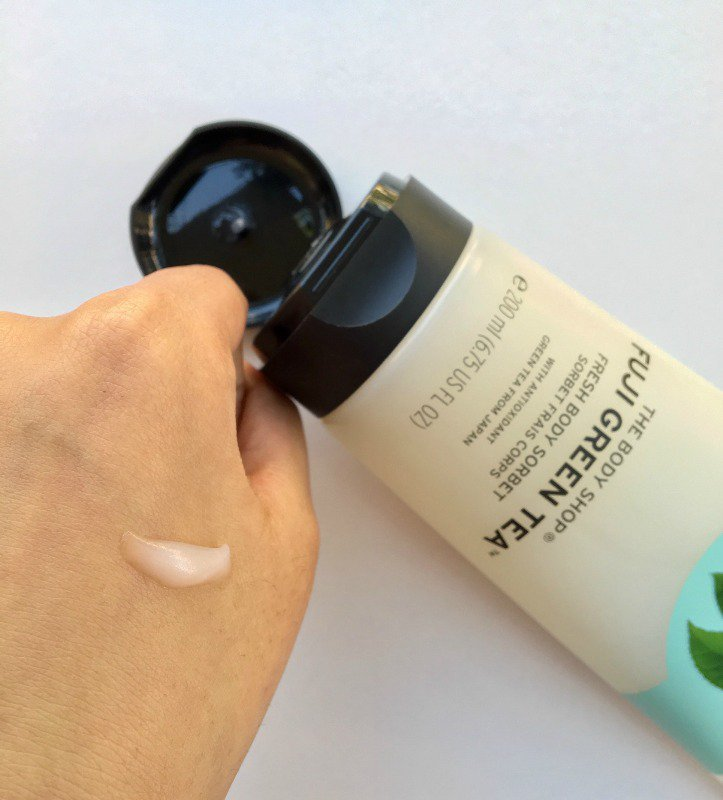 The Body Shop Fuji Green Tea Fresh Body Sorbet 2