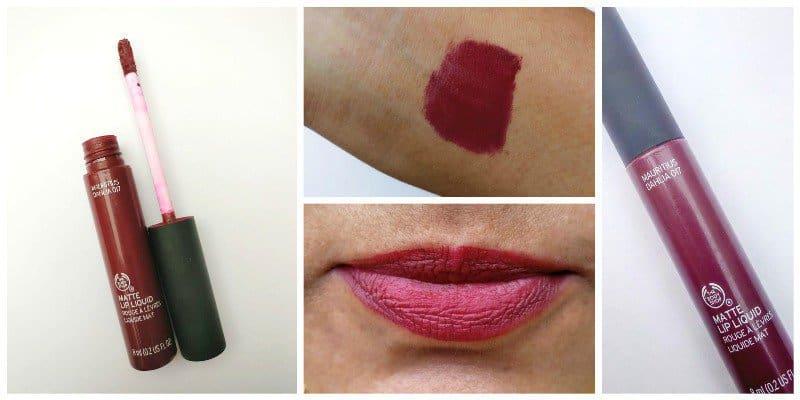 The Body Shop Mauritius Dahlia Matte Lip Liquid