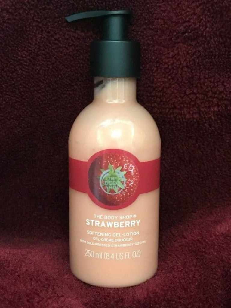 The Body Shop Strawberry Softening Gel-Lotion
