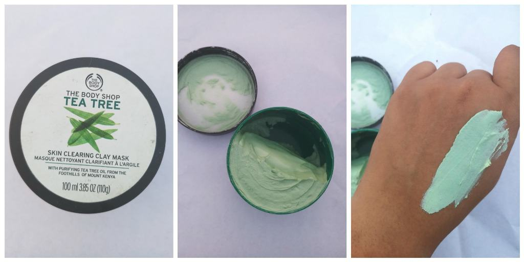 The Body Shop Tea Tree Skin Clearing Clay Mask