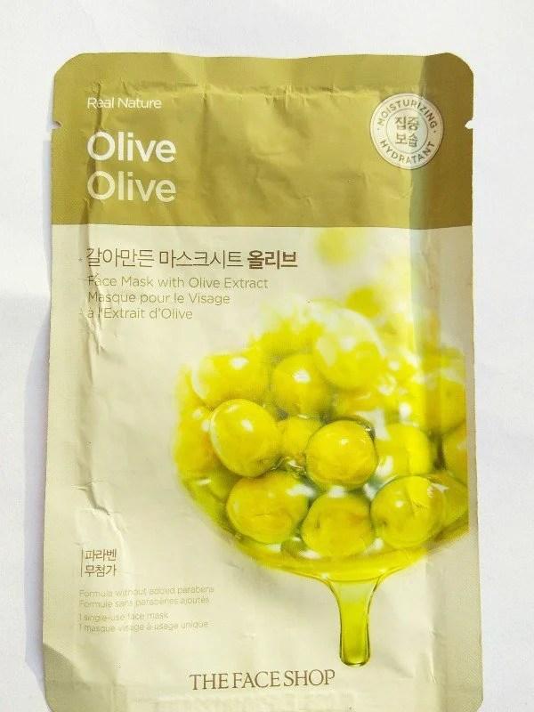 The Face Shop Mask Olive