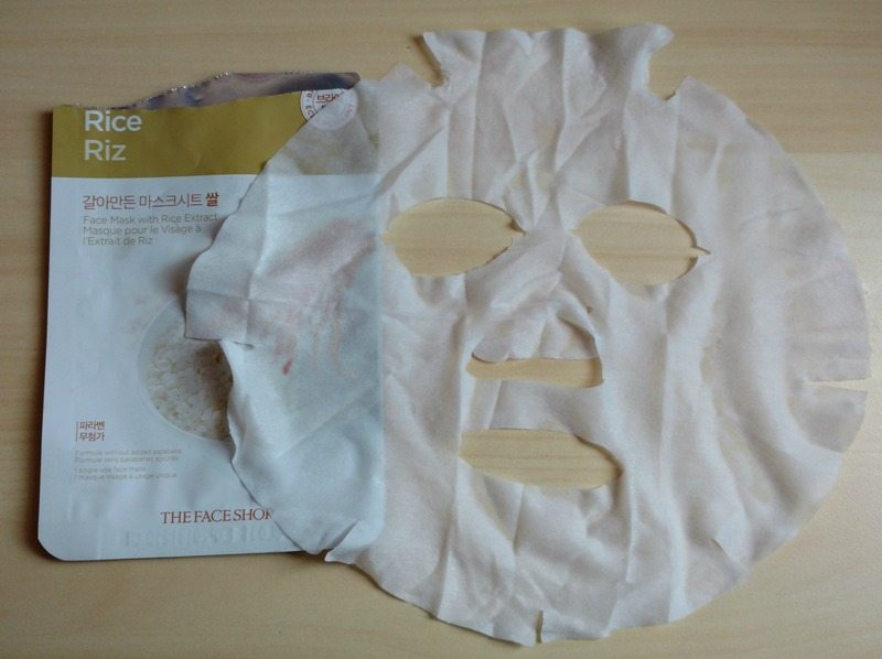 The Face Shop Real Nature Rice Face Mask Review 2