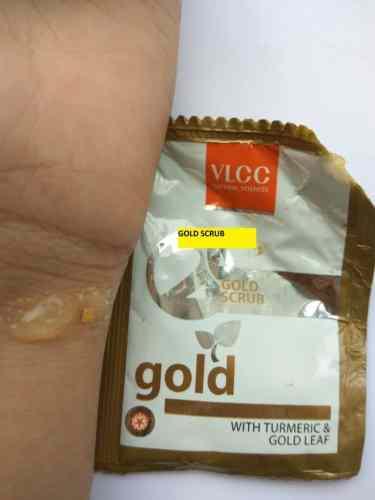 VLCC Gold Facial Kit Review 4