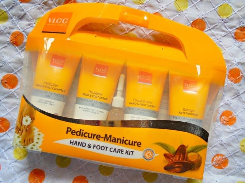 VLCC Pedicure-Manicure Hand & Foot Care Kit Review