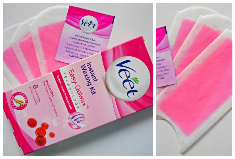 Veet Instant Waxing Kit for Normal Skin