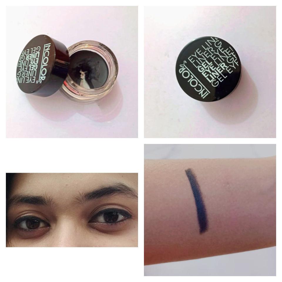 Incolor Waterproof Gel Eyeliner Review