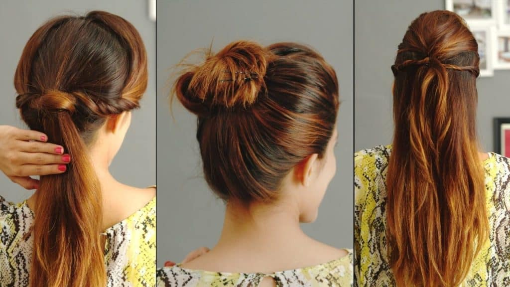 5 Easy Hairstyles for College 1