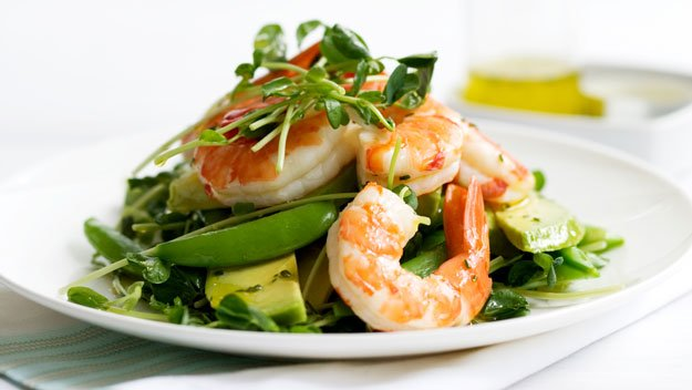 Prawn, Avocado & Cucumber Salad
