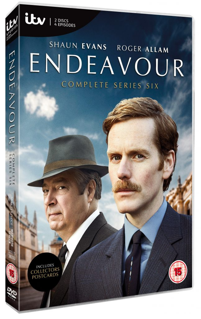 Endeavour Complete Series 6 & Series 1-6 Box Sets – available now