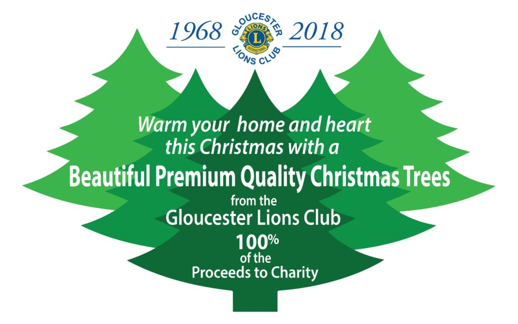 Gloucester Lions Club Christmas Tree Sale 2016