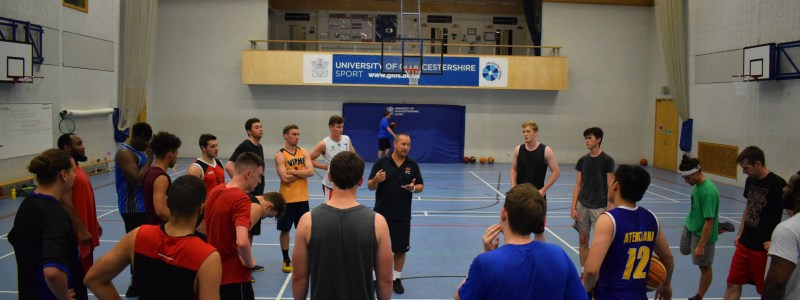 Saxons Men Train At The University of Gloucestershire