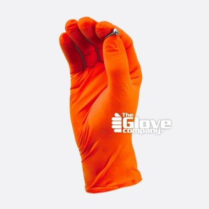 TGC Orange Hi Vis Disposable Glove
