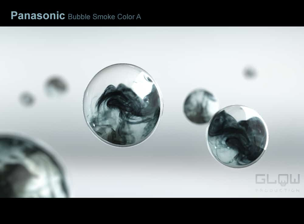 Panasonic Bubble Polluted color A