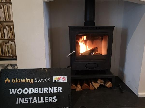 wood burning stove installer in Somerset