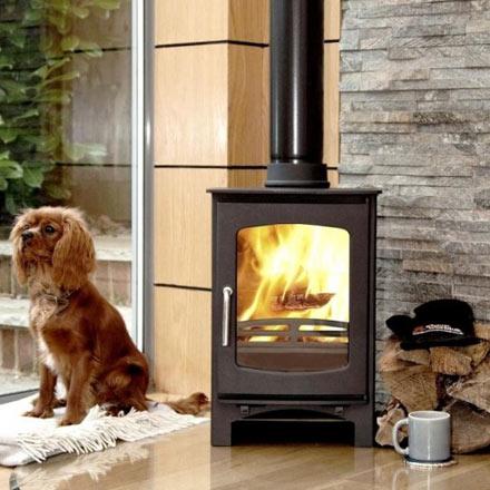 Ecosy Purefire curve stove installation