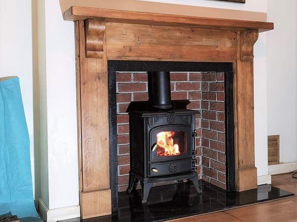 Multi-fuel stove installations in Hatch Beauchamp, Taunton, Somerset.