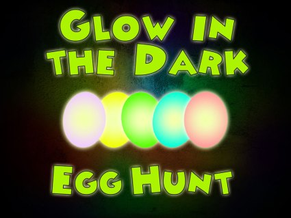 Glow-in-the-dark-easter-egg-hunt