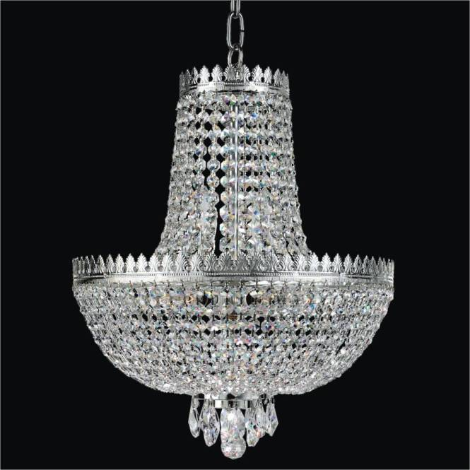 Crystal Basket Chandelier Roman Empire 548 By Glow Lighting
